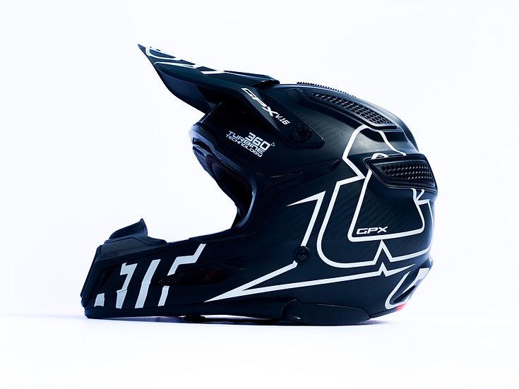 LEATT GPX 6.5 CARBON V16 Helmet Size Small