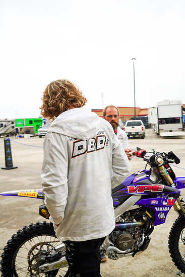 "The Dirt Bike Depot LE Team ""Snow Camo"" windbreaker"