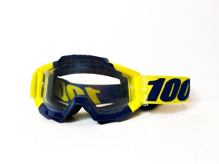 100% Accuri yellow/navy