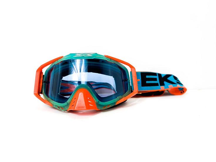 EKS Brand orange/blue