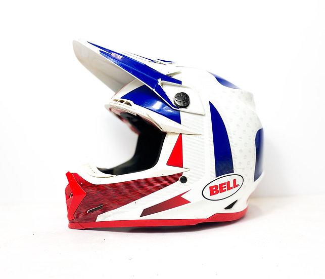 Bell Moto 9 Flex red/blue/white  helmet Size Medium
