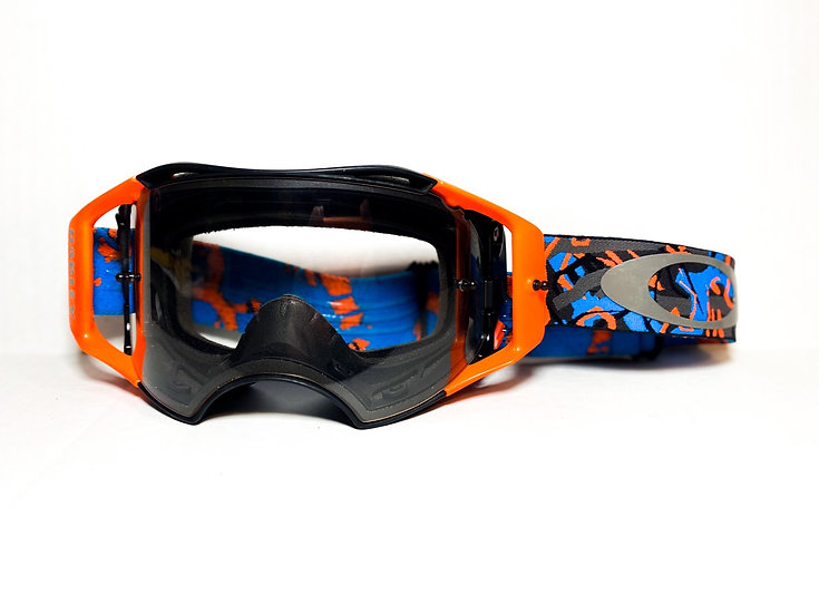 Oakley Airbrake orange/blue