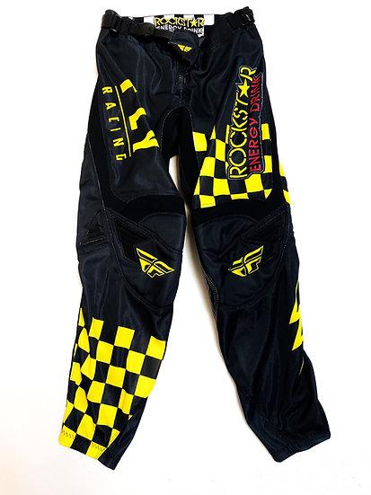 Fly Kinetic Rockstar checker pants Size 30