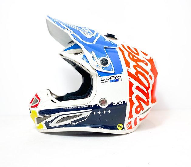TLD SE4 red/blue/white Helmet Size XS
