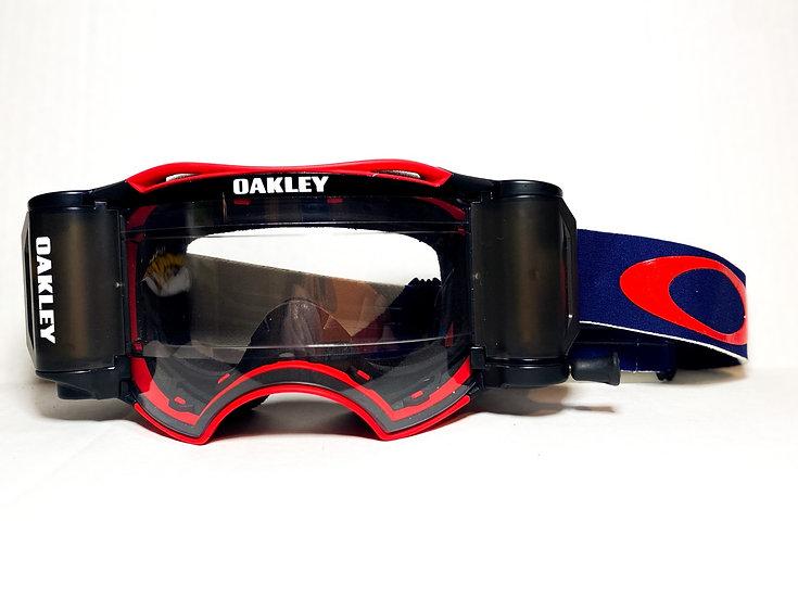 Oakley Airbrake Rolloff navy blue/red BRAND NEW