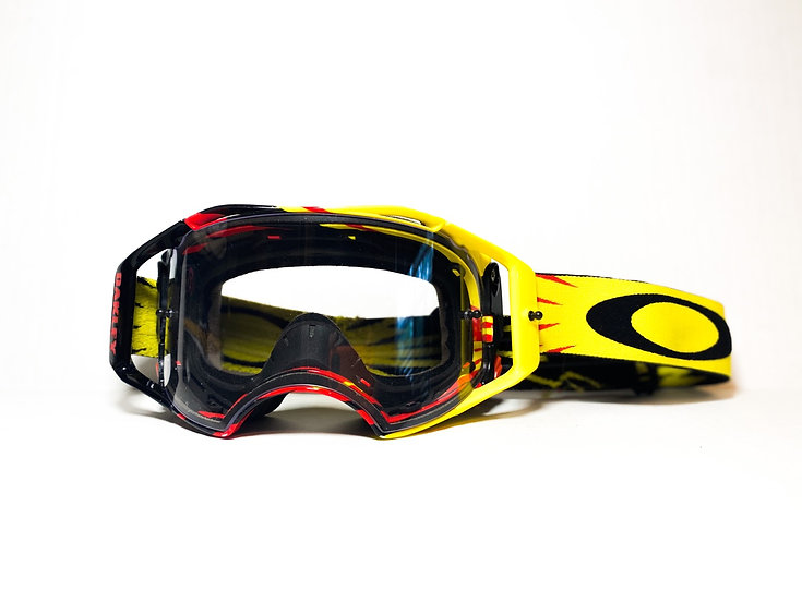 Oakley Airbrake yellow/red