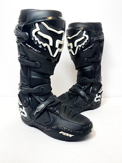 Fox Instinct black/white speckle Boots Size 10