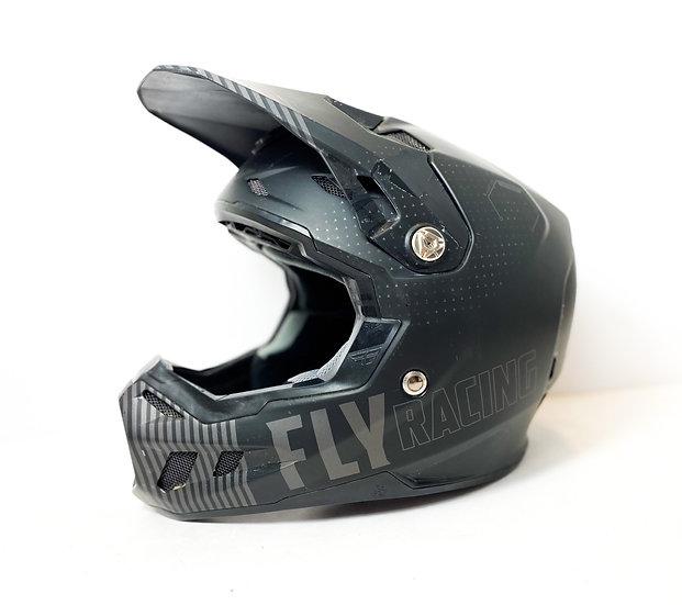Fly Formula carbon black/grey helmet Size Large