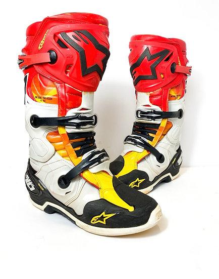 "Alpinestars Tech 10 ""Indianapolis LE"" boots Size 10"