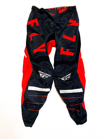 Fly Kinetic red/black pants Size 30
