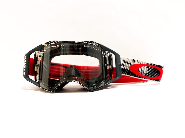 Oakley Airbrake red/black