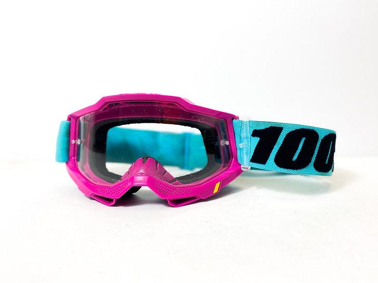100% Accuri Gen2 pink/teal