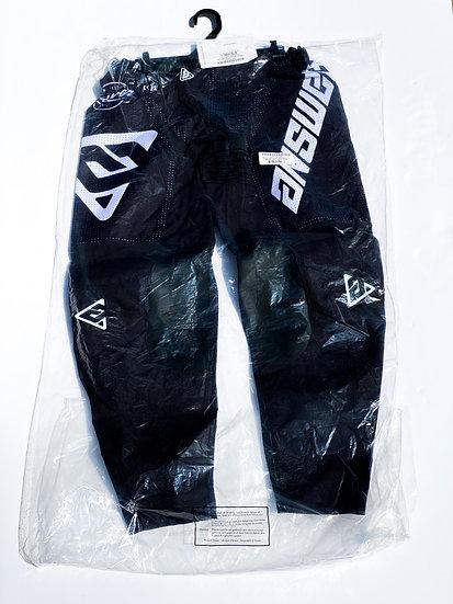 Answer Akron Bold black/white pants BRAND NEW Size 32