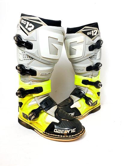 Gaerne SG12 highliter/grey boots Size 7