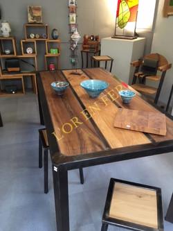 Table noyer chêne