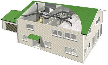 Ventilaion Positive Pressure System