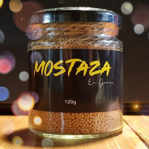 Mostaza amarilla en grano 120g