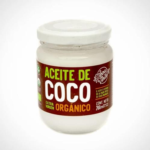 ACEITE DE COCO ORGÁNICO 200ml