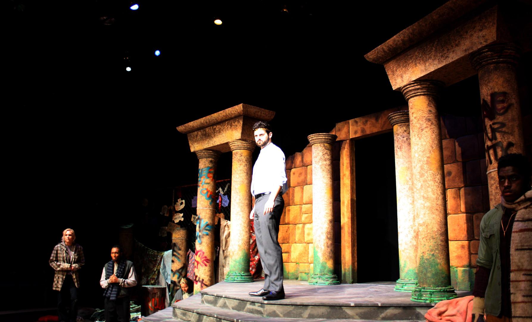 Oedipus Speaks to the People