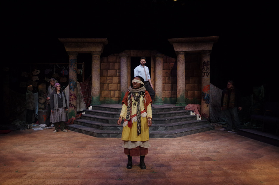 Tiresias Enters the City of Thebes
