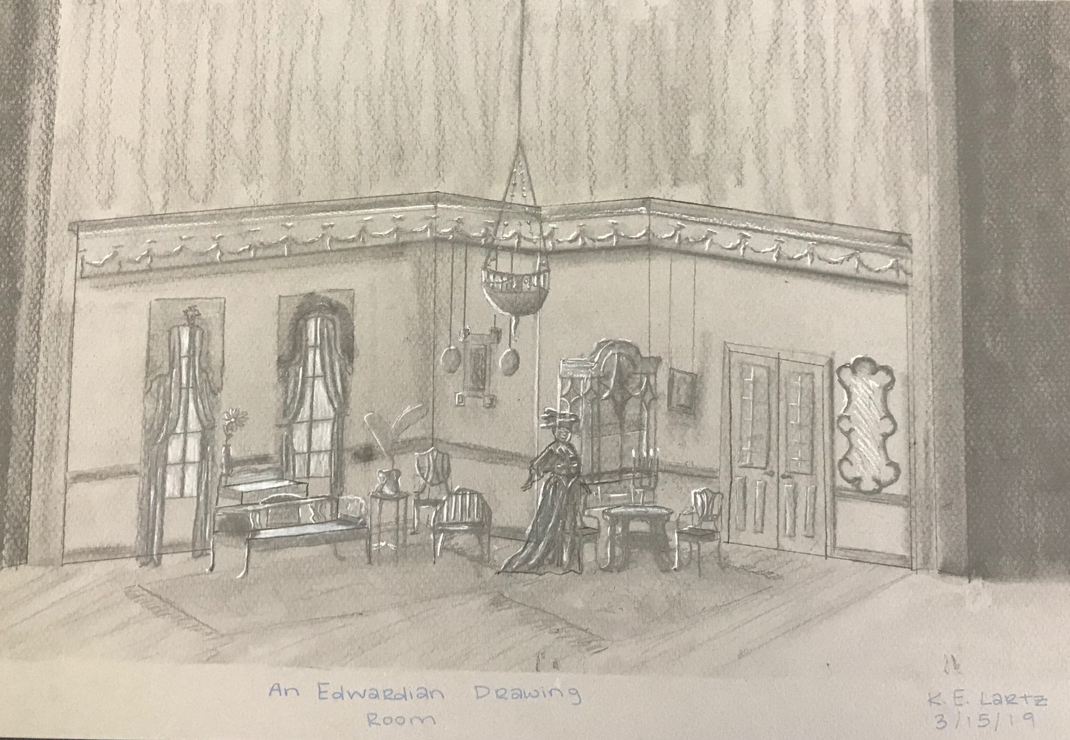 An Edwardian Drawing Room