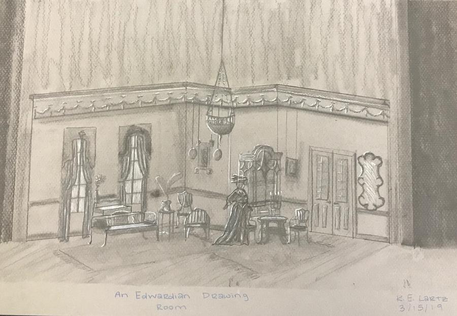 An Edwardian Drawing Room
