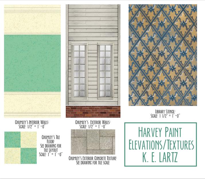 Harvey Paint Elevations
