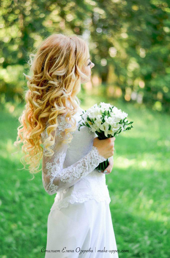 Свадебный образ, невеста Ксения