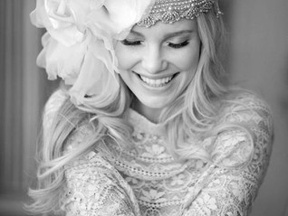 Стиль БОХО в свадебной прическе
