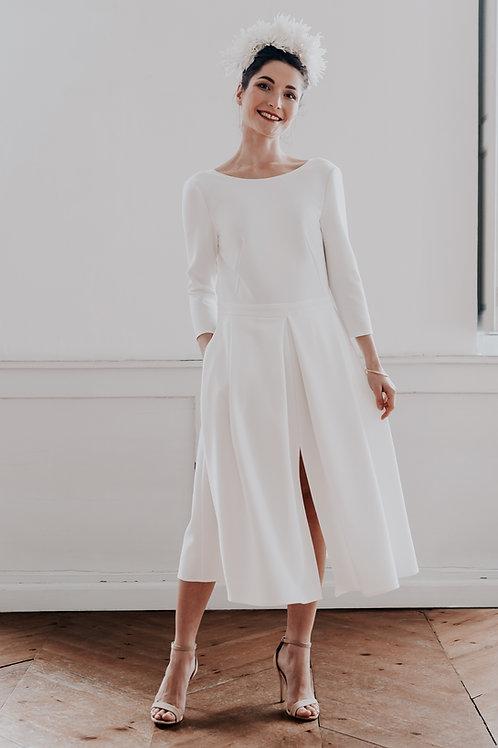 MONA Robe ivoire