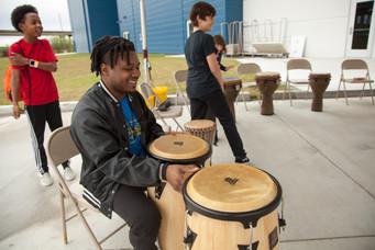 Drumming At Artsfest