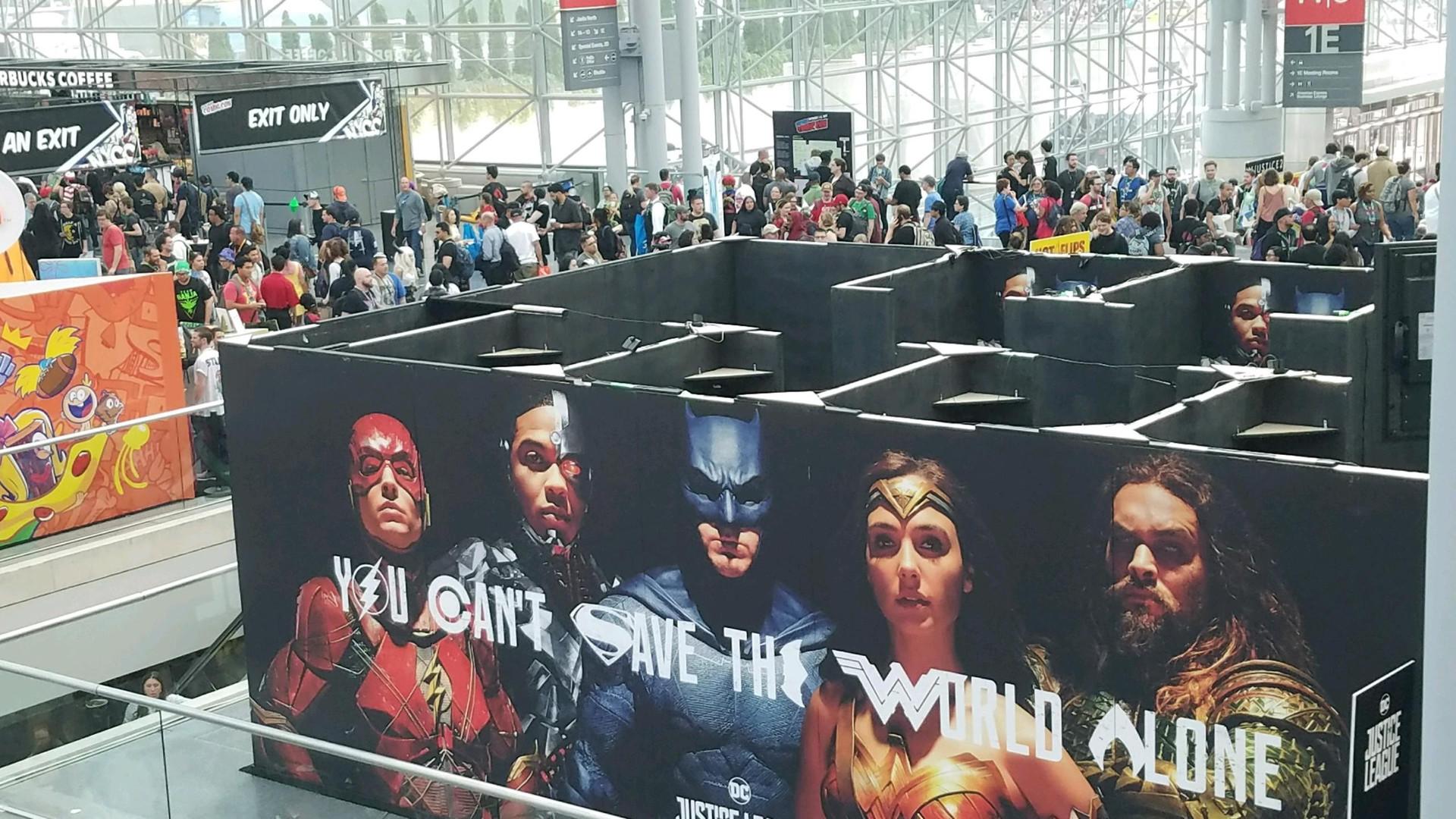 Justice League NYCC 2017