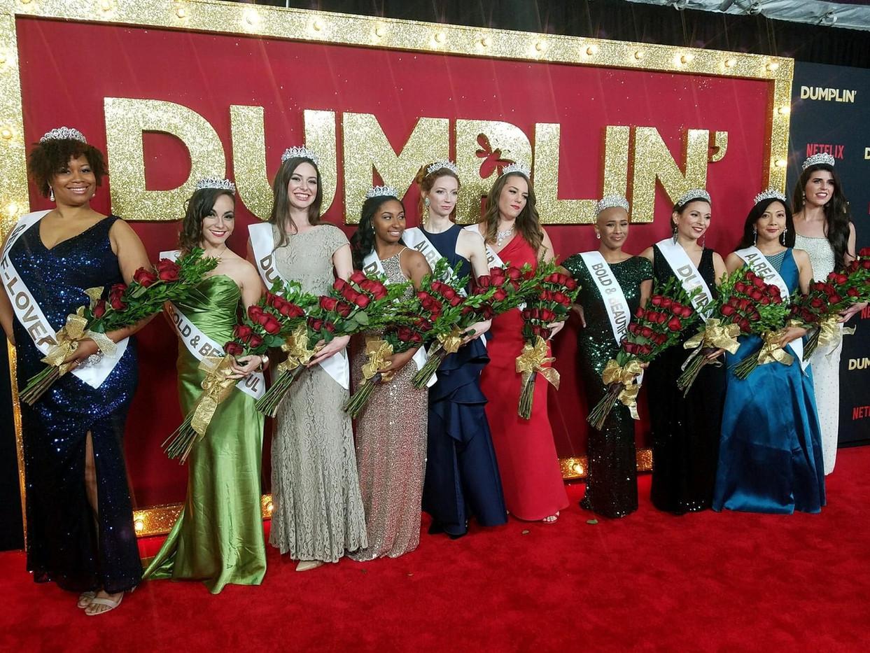 Dumplin' Red Carpet Premiere Cast