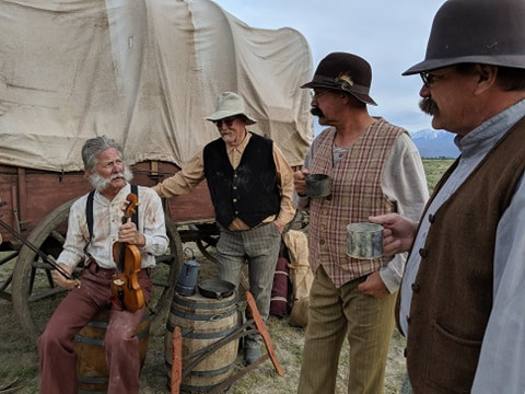 Wagon Train Western Film