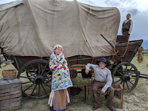 Wagon Train Western Film