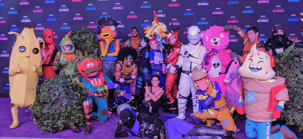 Fortnite Epic Games Cast of Characters