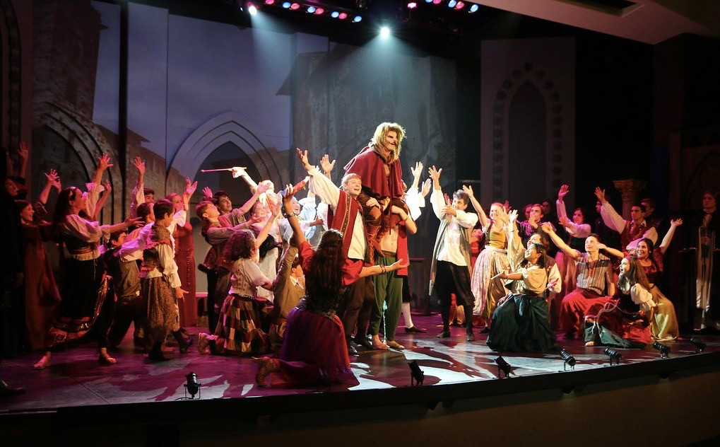 Hunchback of Notre Dame - St. Francis High School Cast