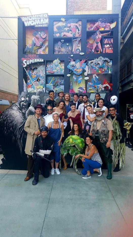 San Diego Comic Con - DC Universe Cast