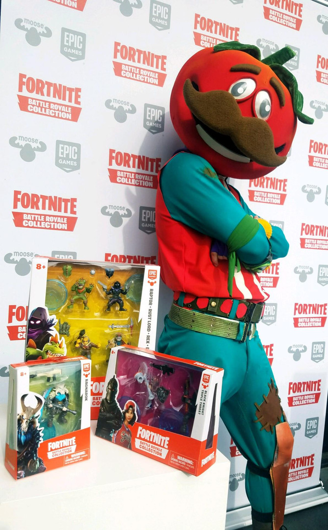Fortnite Toy Launch