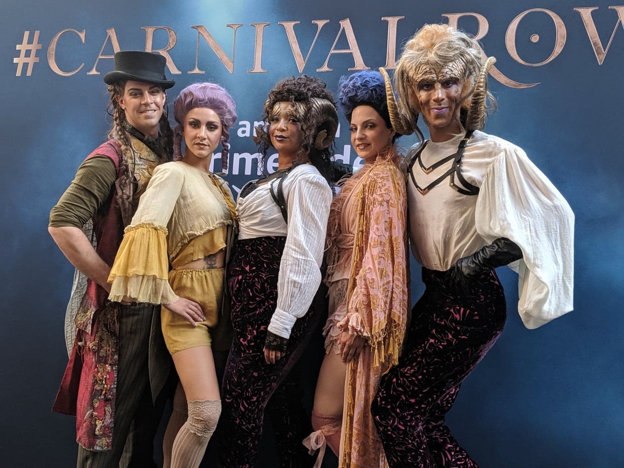 Comic Con Brazil Carnival Row Activation