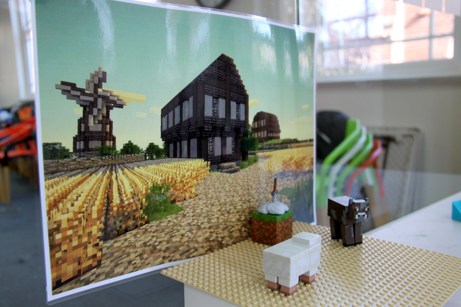 Lego & Minecraft stories that kids L