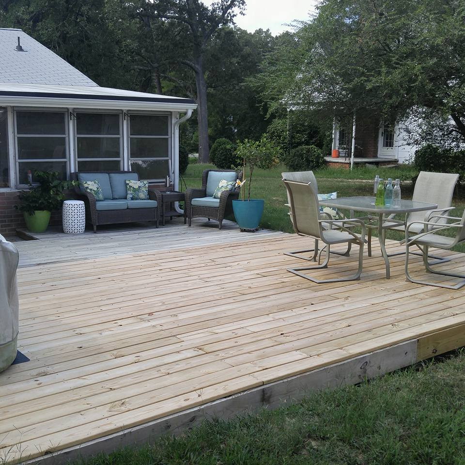Deck Plans and Building