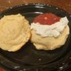 Sugar free sugar cookies with homemade sugar free jam