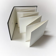 ACCORDION FOLD JOURNAL top unfolded view