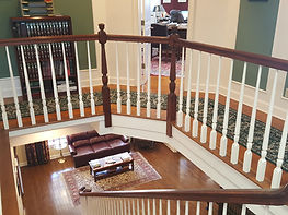 staircase pic from upstairs looking down