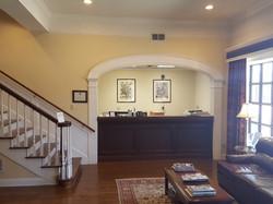 Reception area pic