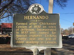 History of Hernando