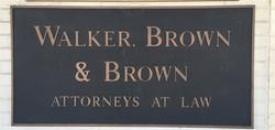 Walker, Brown & Brown