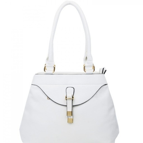 568ca805a4 LW-15008S WHITE LEAHWARD® LARGE SIZE WOMEN S SHOULDER BAGS TWO ZIPPER  COMPARTMEN