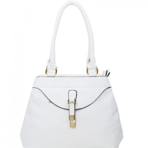 LW-15008S WHITE LEAHWARD® LARGE SIZE WOMEN S SHOULDER BAGS TWO ZIPPER  COMPARTMEN 6687b861c2206